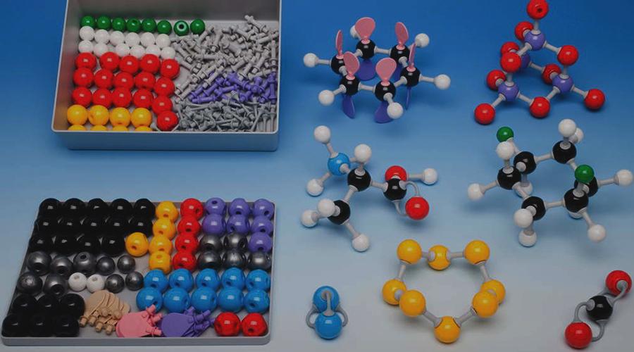Kroglični modeli atomi
