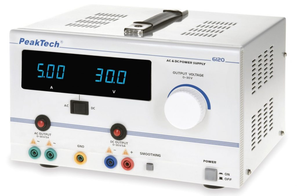 Izvor napetosti enosmerni/izmenični 30V (DC/AC)